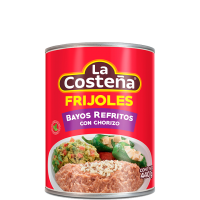La Costeña - Refried Mexican pinto beans with chorizo 440 gr