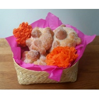 Mexican sweet bread (day of the Dead)
