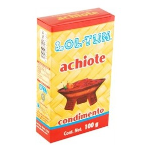 Lol tun - Annatto (achiote) paste 100 gr