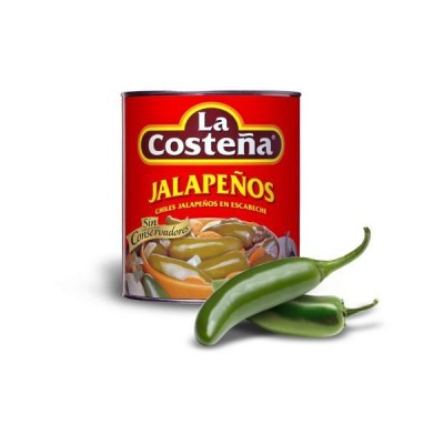 La Costeña chiles jalapenos enteros