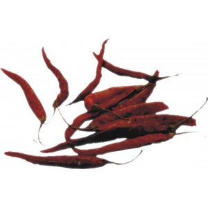 chiles de arbol secos 100g