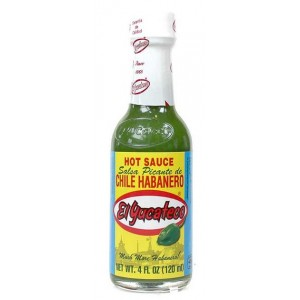 El yucateco green habanero sauce 120 ml
