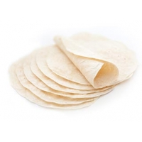 Flour tortillas for preparring Burritos - 25cm (10 pcs)