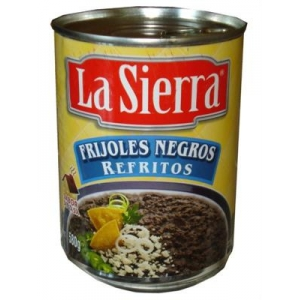 La Sierra - Black beans refried 430 gr