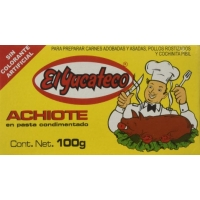 El Yucateco achiote paste - 100 gr