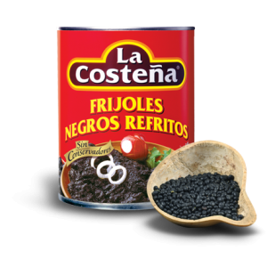 Black beans refried