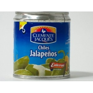 Clemente Jaques - Whole Jalapeño chili 220g