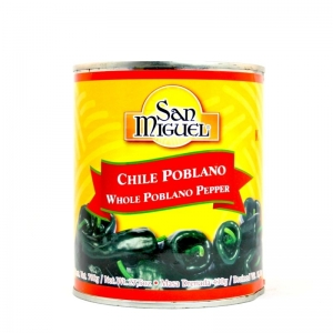 Chile poblano whole 780g