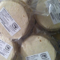 Frozen Organic Mini Corn Tortillas 1 kg