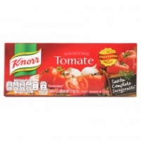 Knorr tomato bouillon seasoning (8) cubs of 11 gr