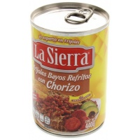 La Sierra - Refried beans with chorizo 440 gr
